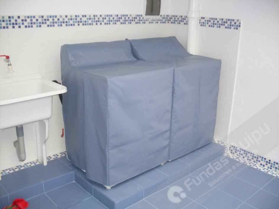 Fundas para lavadoras fundas quipu fundas para for Fundas muebles terraza